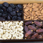 Dryfruits /Dates Gift Tray (4 Portion)