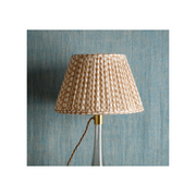 Lampshade in Nut Brown Wicker