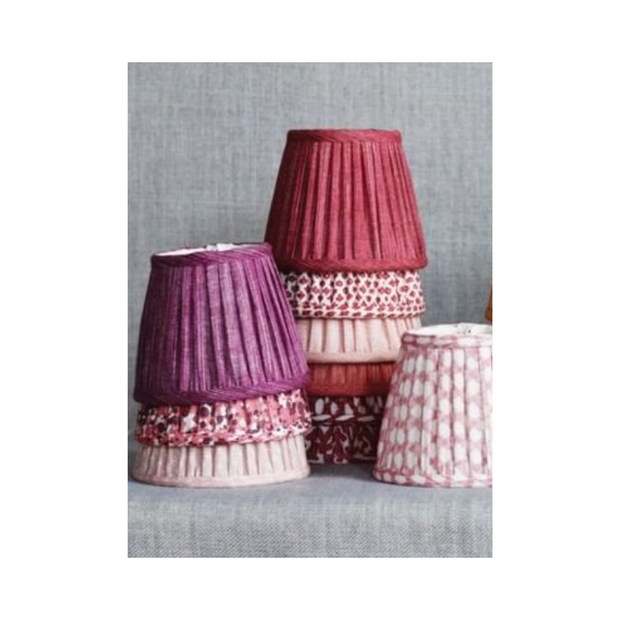 Lampshade in Pink Wave