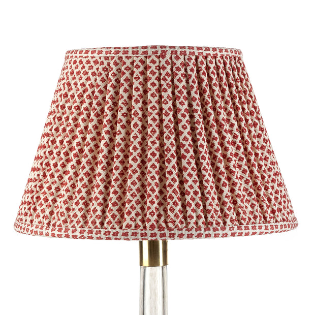 Lampshade in Red Marden