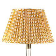 Lampshade in Yellow Wicker