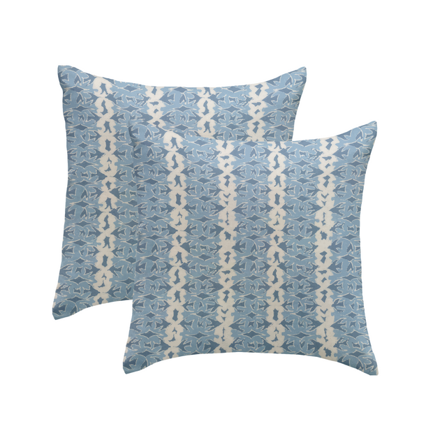 Dove Stripe Pillows by Marika Meyer, Pair