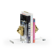 Leo Bookends, Pair