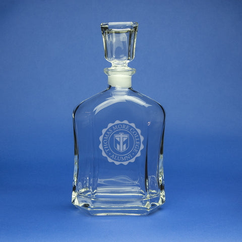 CRYSTAL BEVERAGE DECANTER