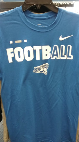 NIKE SOFT FIT SS FOOTBALL TEE