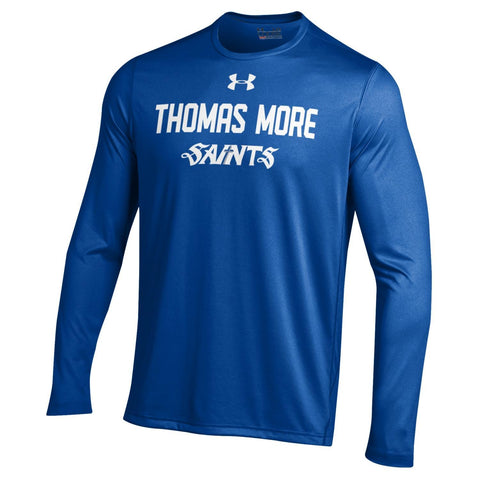 UA LONG SLEEVE ROYAL NU TECH TEE