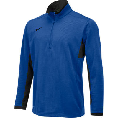 NIKE MENS TEXTURED DRI-FIT 1/2 ZIP PULLOVER - Football