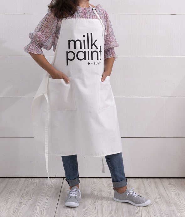 Milk Paint Apron