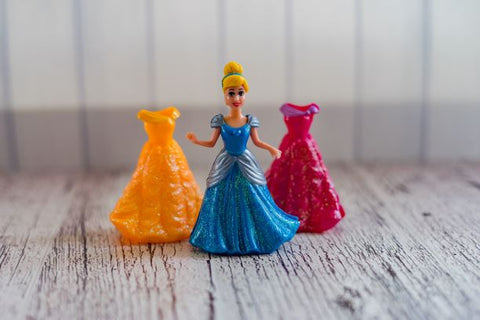 Mini Princess Dress up Dolls