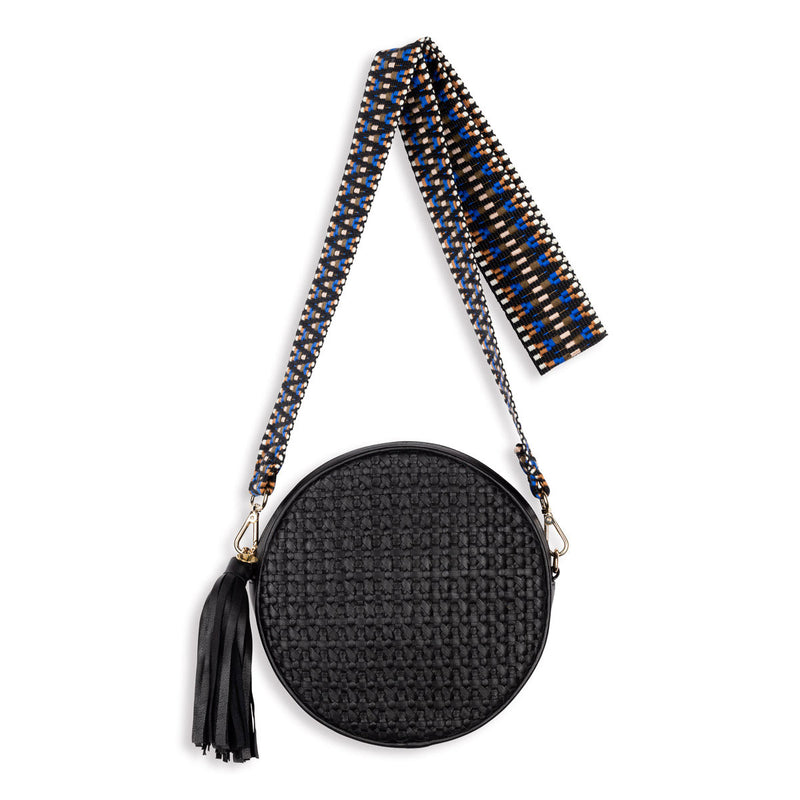 Moyo Drum Bag with Jacquard Strap