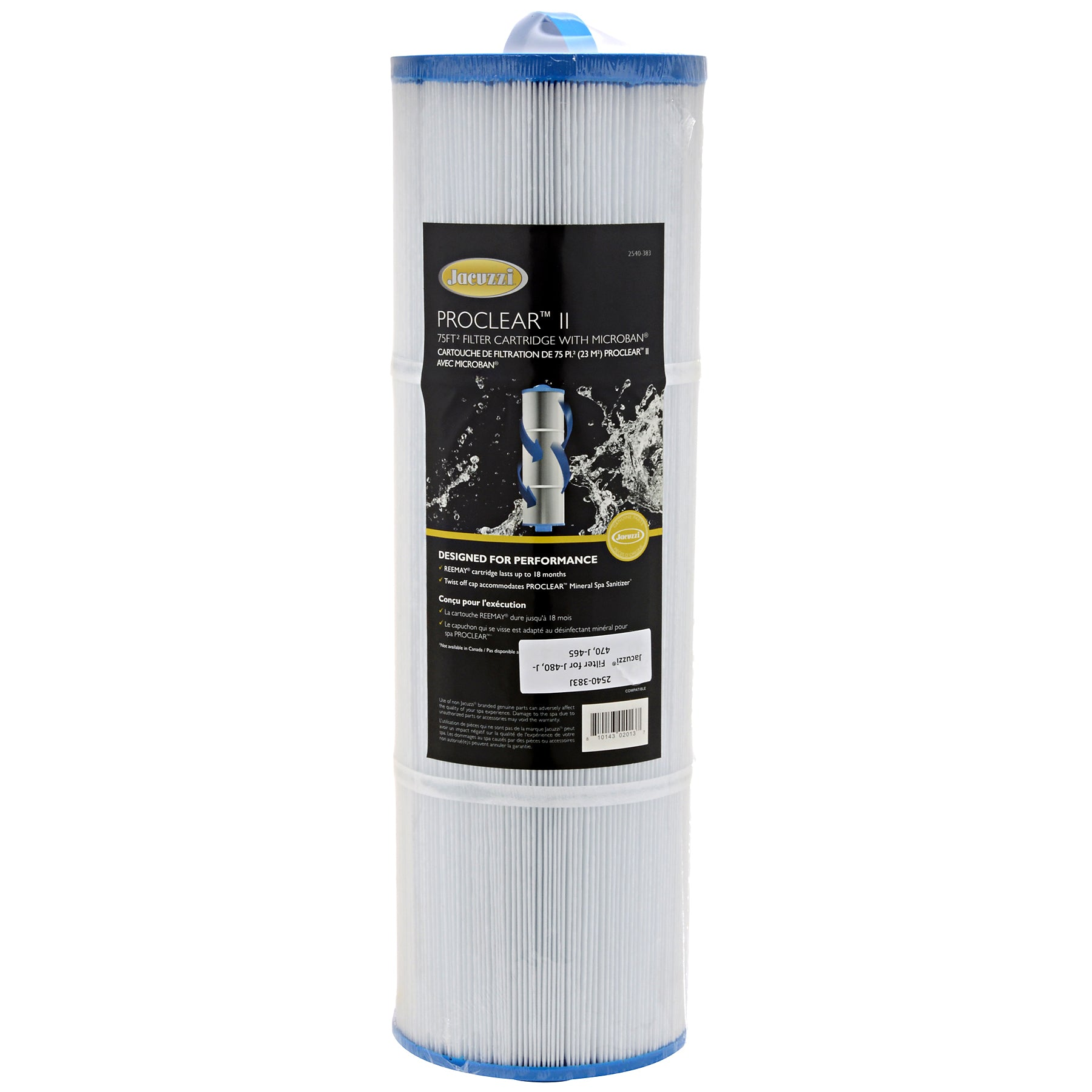 Jacuzzi® ProClear™ 75 sq. ft. Filter for select J-400™, 2540-383J