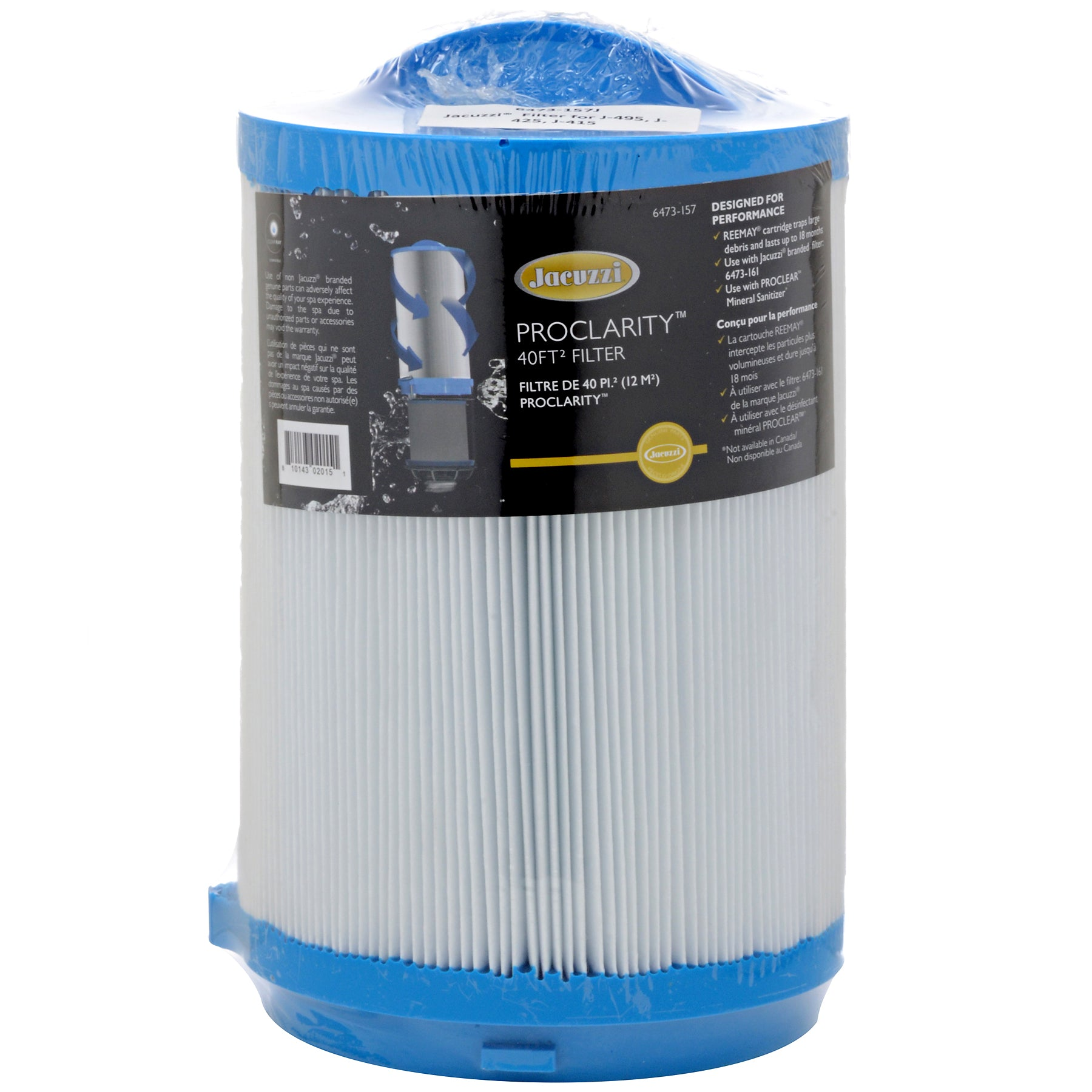 Jacuzzi® PROCLARITY® 40 sq. ft. Primary Filter, 6473-157J