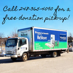 Call 248-365-4090 for a free donation pick-up