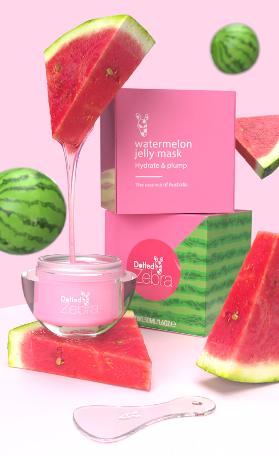 Watermelon Jelly Moisturising Mask (with applicator) 50ml