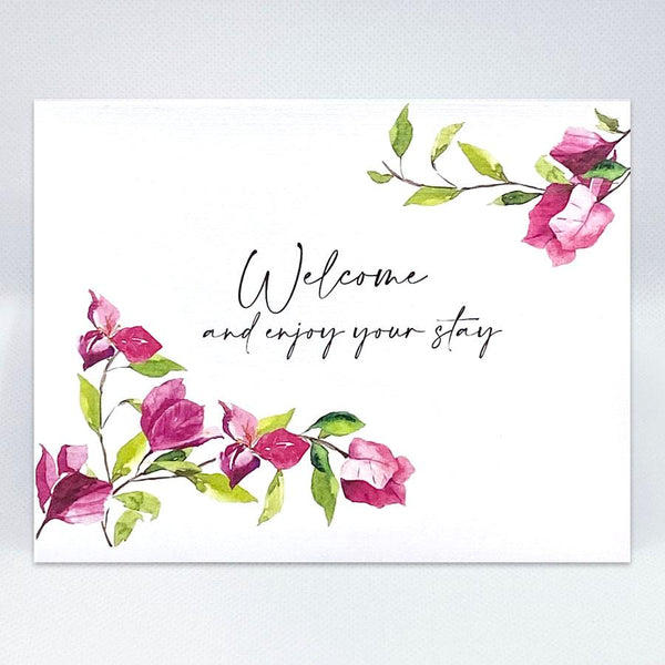 Bougainvillea Card - Simple Hospitality