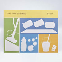 Housekeeping Card (Pastels) - Simple Hospitality