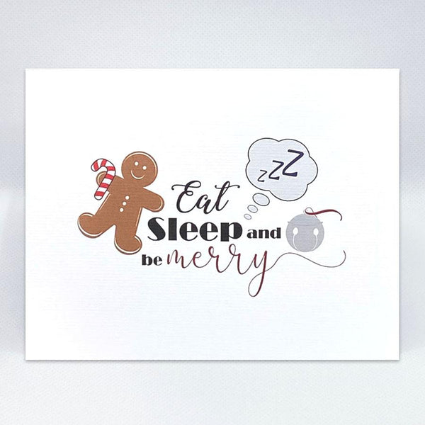 Be Merry Holiday Card - Simple Hospitality