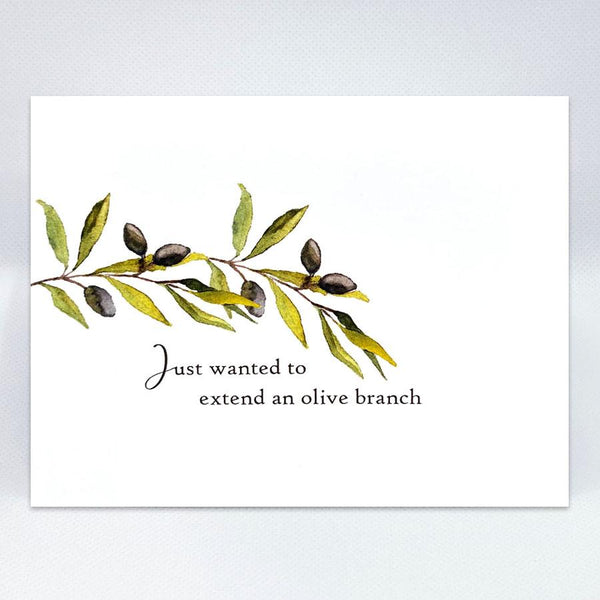 Olive Branch Card - Simple Hospitality