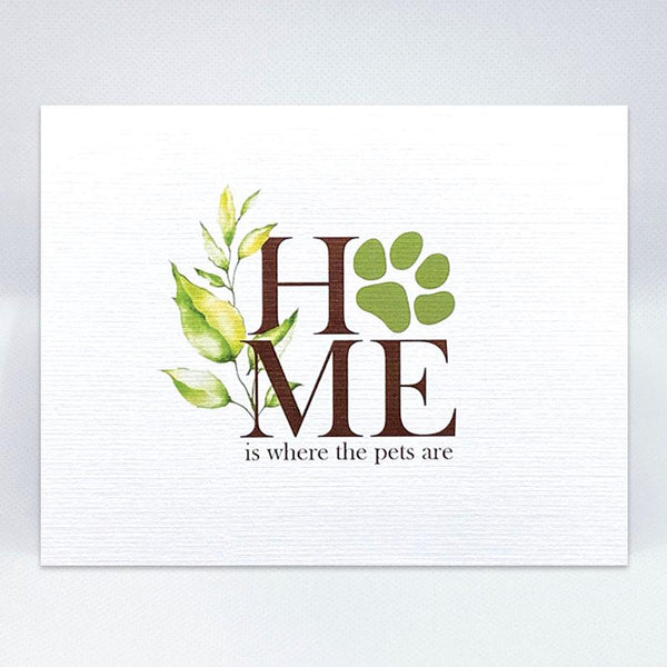Where The Pets Are Card - Simple Hospitality