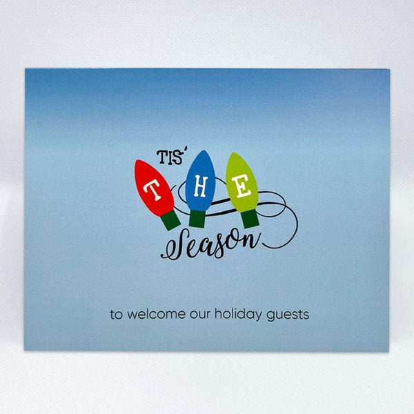 Tis' The Season Card - Simple Hospitality
