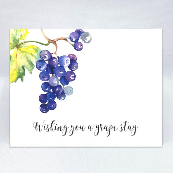 "A ""Grape"" Stay Card - Simple Hospitality"
