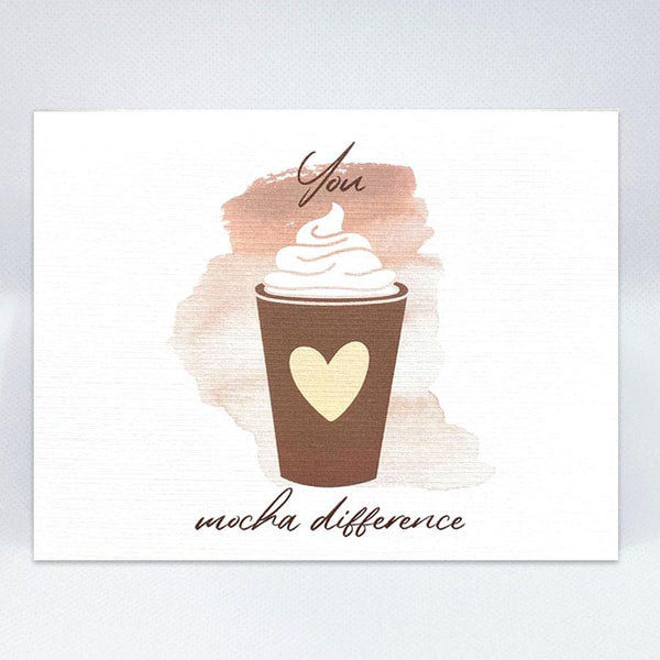 Mocha Difference Card - Simple Hospitality