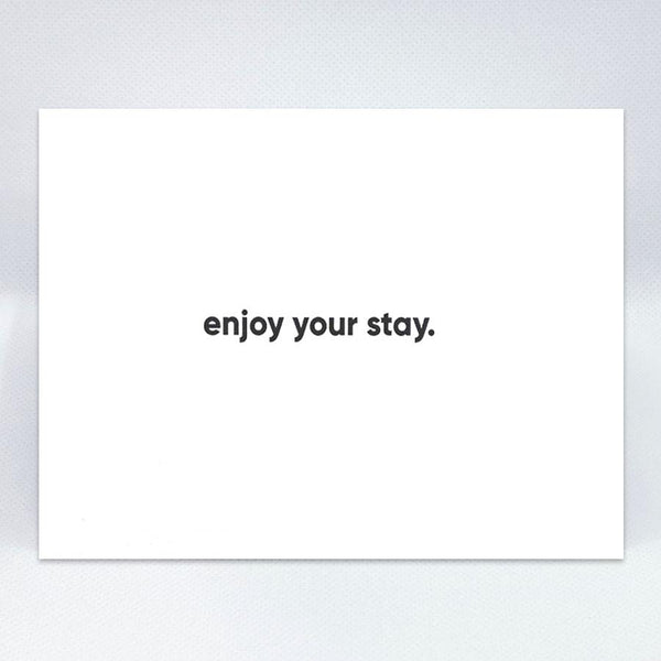 Enjoy Simple Card - Simple Hospitality