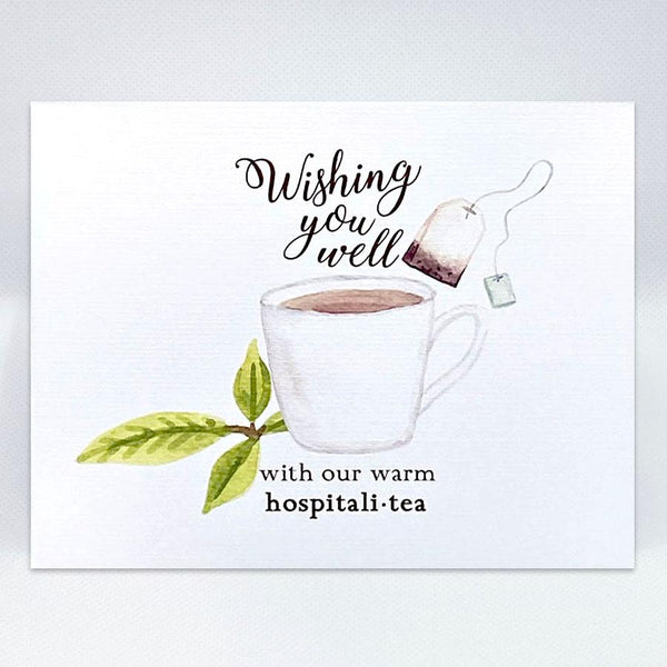 Hospitali-TEA Card - Simple Hospitality