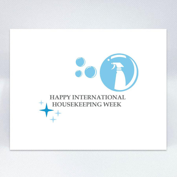 Int' Housekeeping Week Card - Simple Hospitality