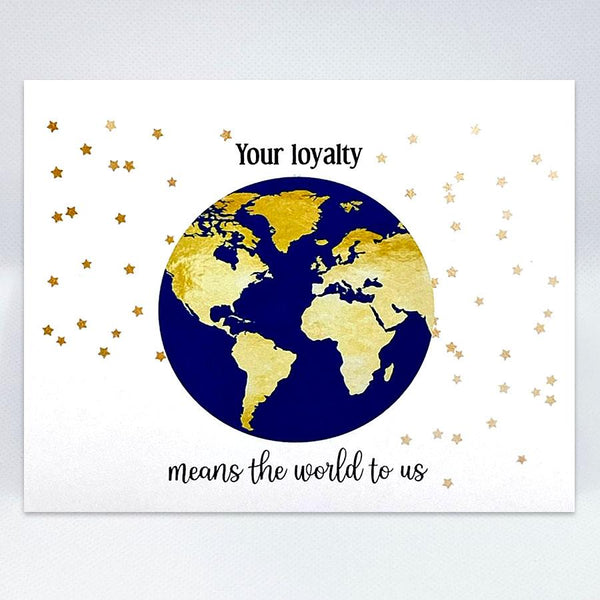 Loyalty World Card - Simple Hospitality