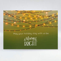 Merry & Bright Card - Simple Hospitality