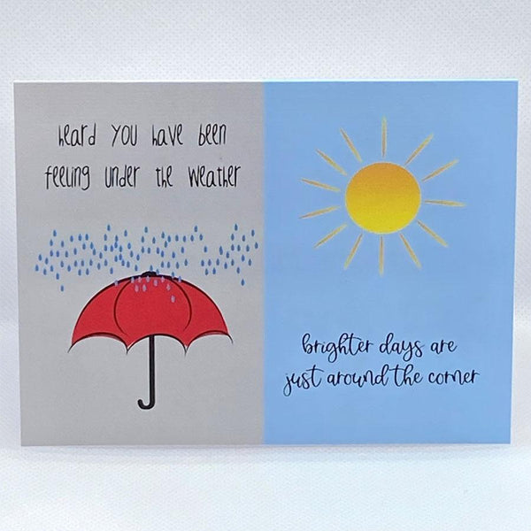 Under The Weather Card - Simple Hospitality