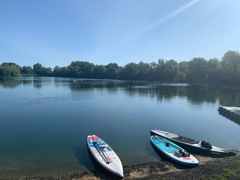Stand Up Paddle Board Lessons at Milton Country Park Cambridge