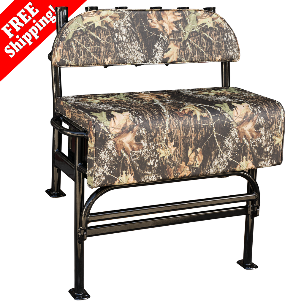 "Welding World 38"" Dixie Fixie Mossy Oak® Break Up Cammo Jon Boat Leaning Post"
