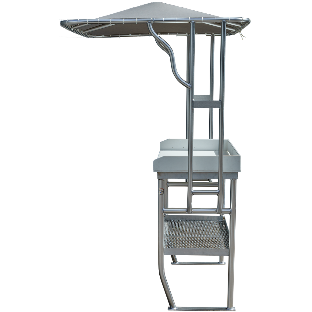 Almaco Jack Dockside Fish Cleaning Station
