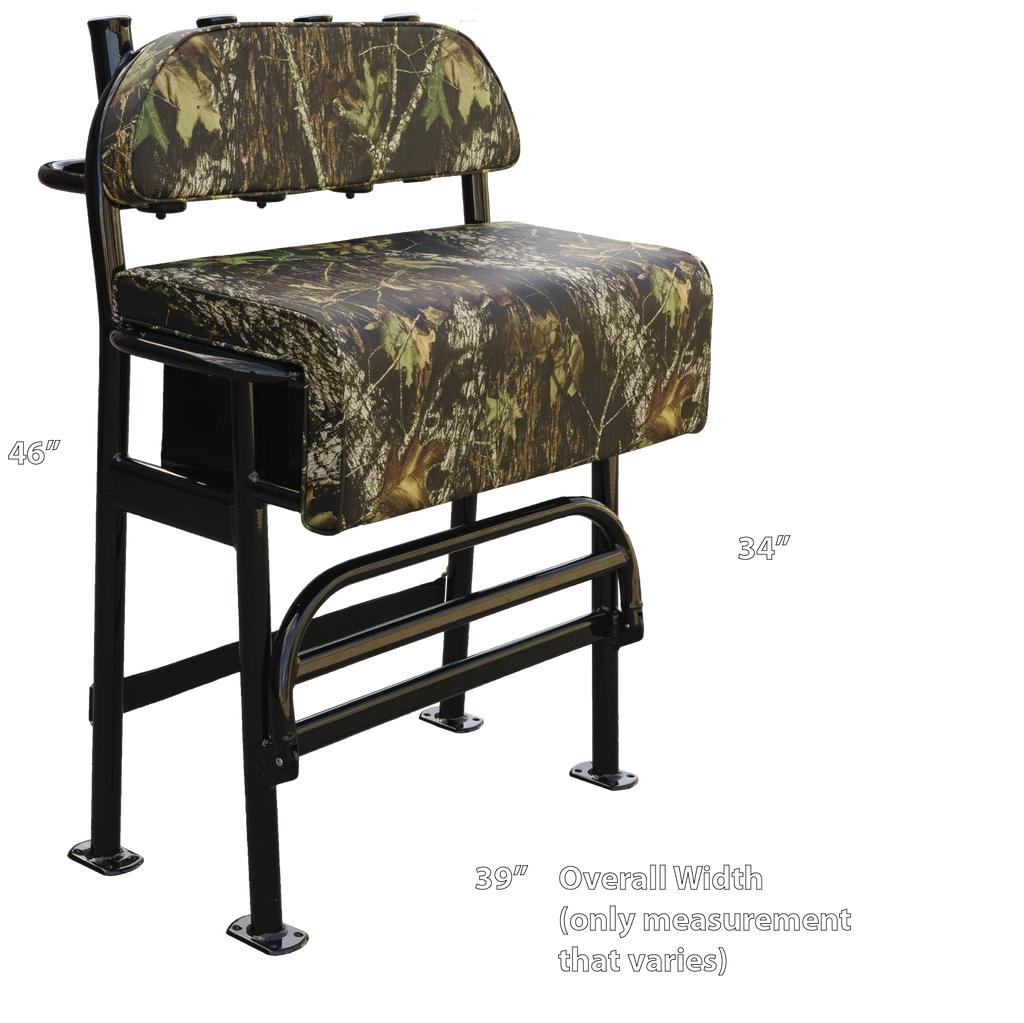 Welding World Dixie Fixie II Mossy Oak® Cammo Jon Boat Leaning Post