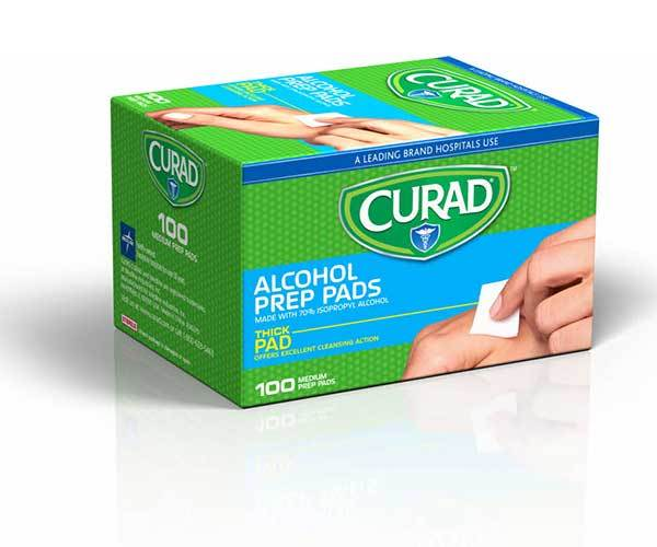 Alcohol Prep Pads (48 boxes of 100)