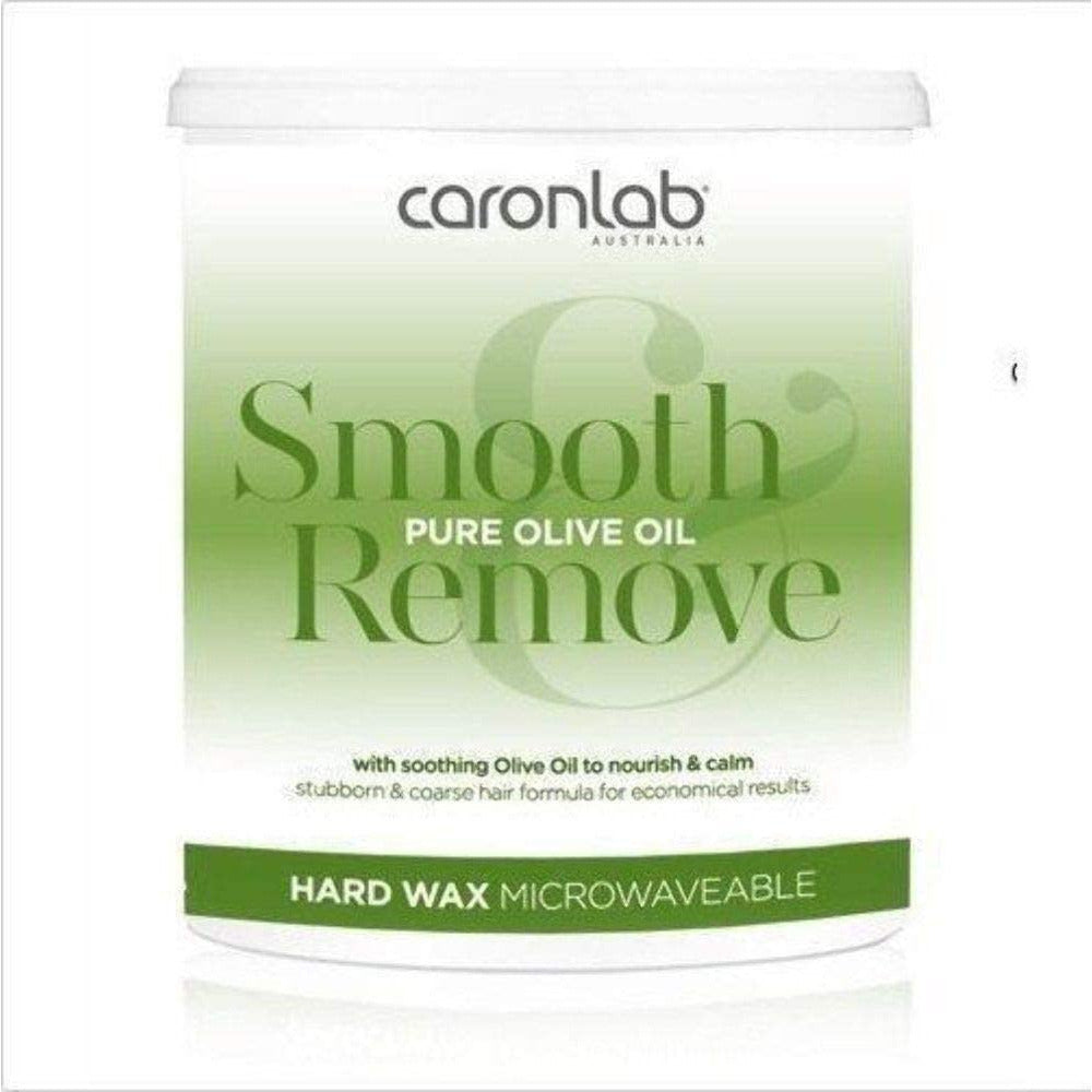 Caronlab Smooth And Remove Pure Olive Oil Hard Wax Microwavable 400g