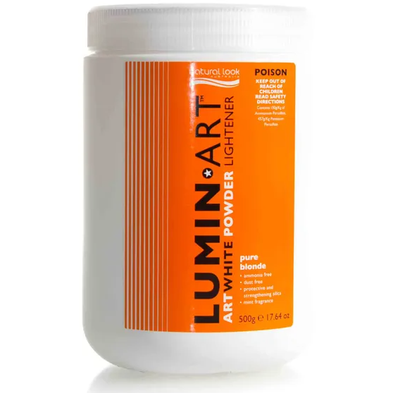 Natural Look Lumin Art White Powder Lightener Pure Blonde - 500g