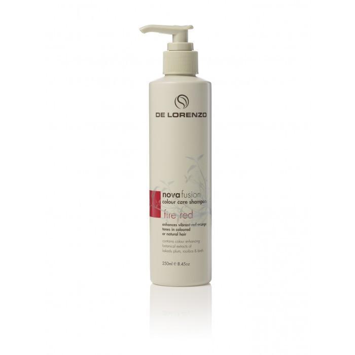 De Lorenzo Nova Fusion Colour Care Shampoo - Fire Red 250ml