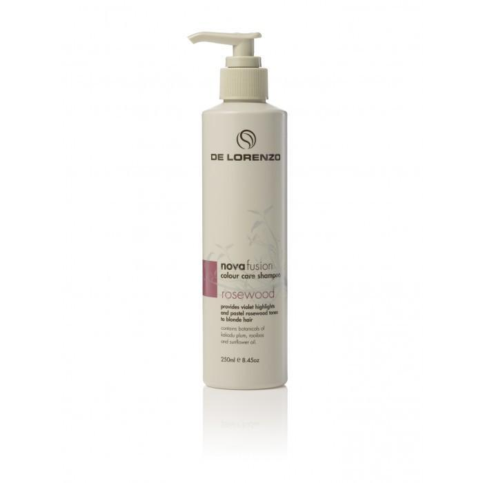 De Lorenzo Nova Fusion Colour Care Shampoo - Rosewood 250ml