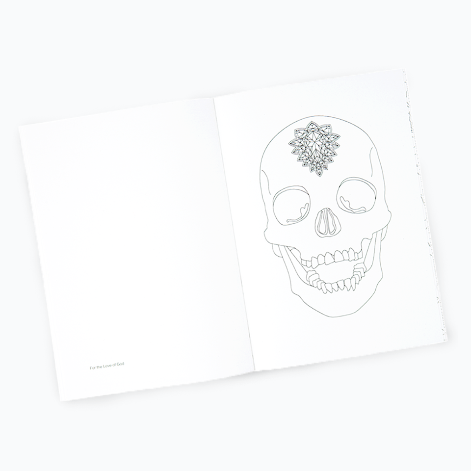 Damien Hirst - Colouring Book