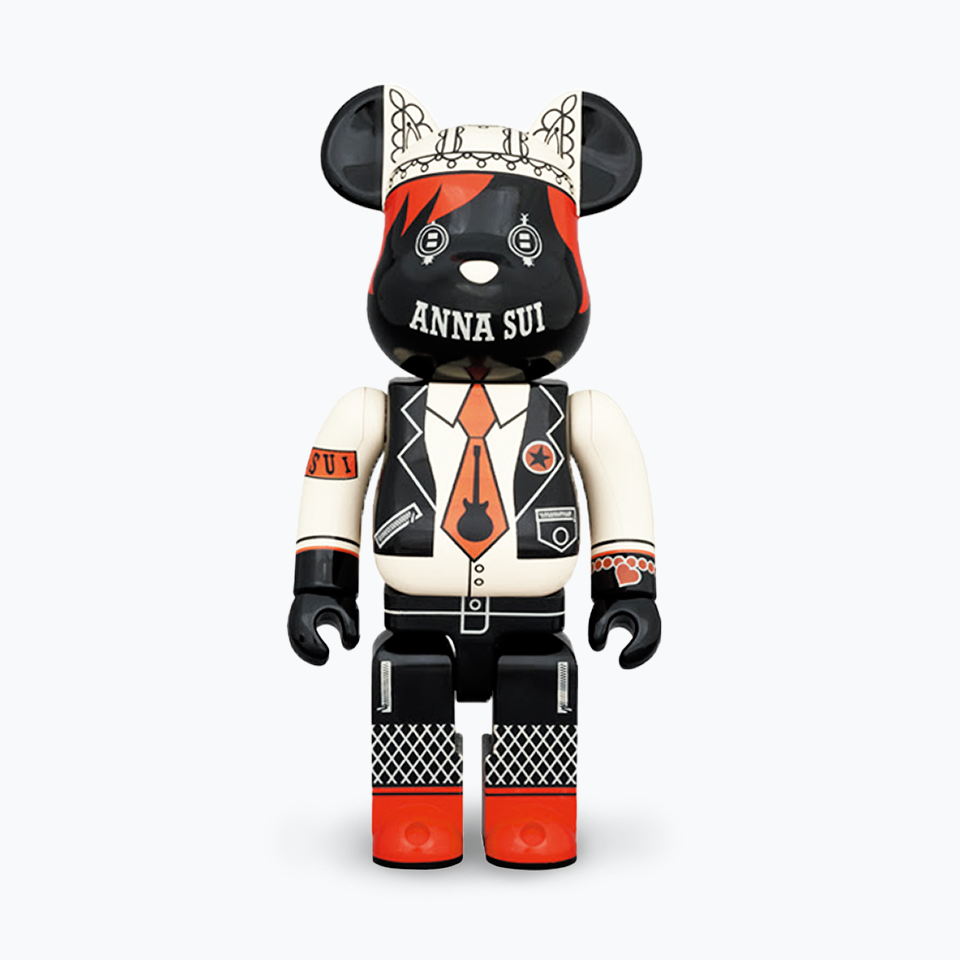 Anna Sui (Red & Beige) Bearbrick 1000%