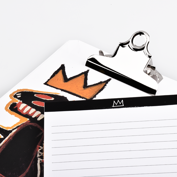 Jean-Michel Basquiat Dino Mini Clipboard & Notepad