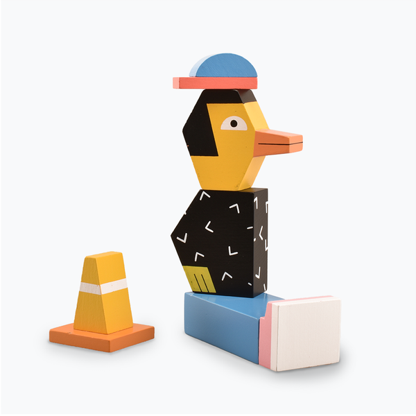 Andy Rementer Block Party Duck