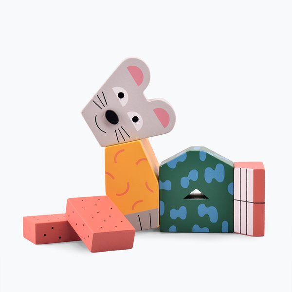 Andy Rementer Block Party Mouse