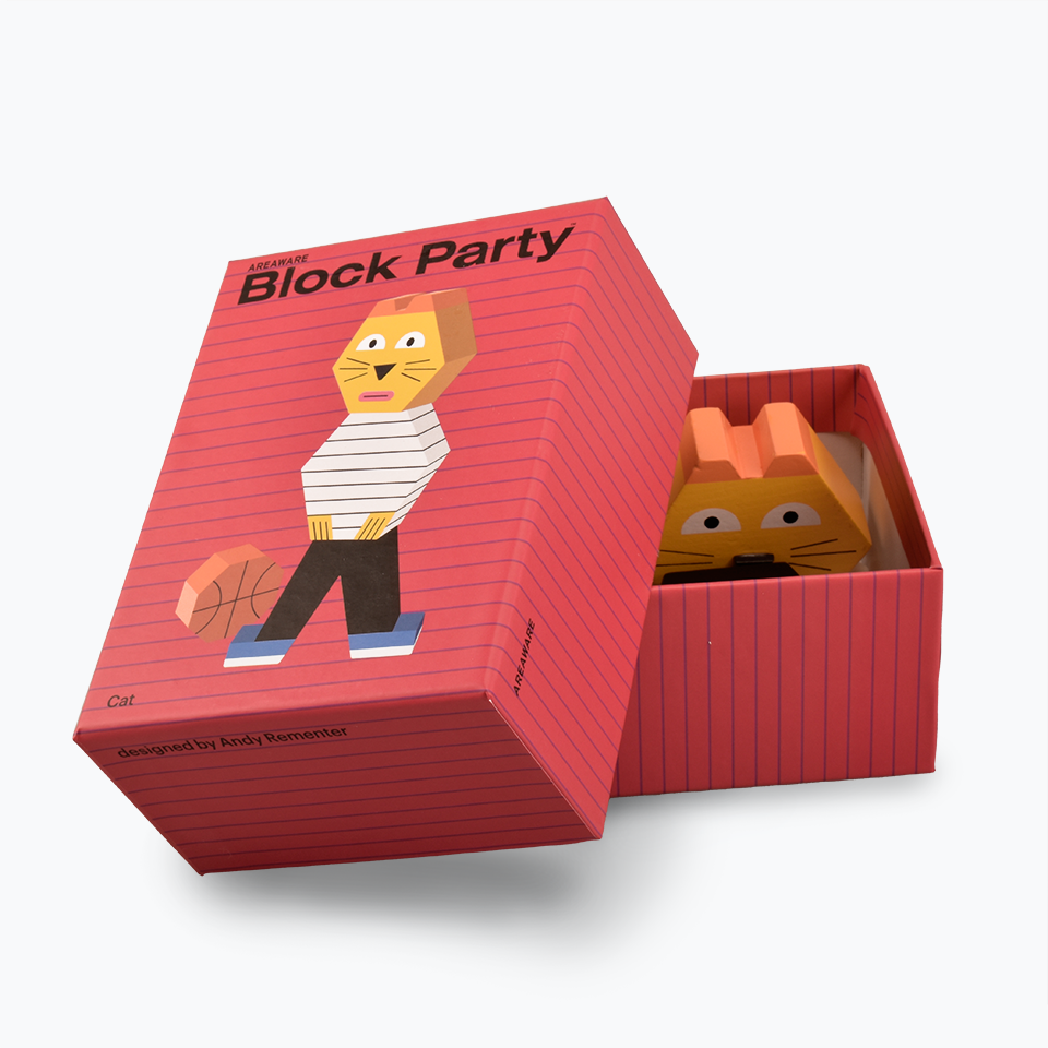 Andy Rementer Block Party Cat