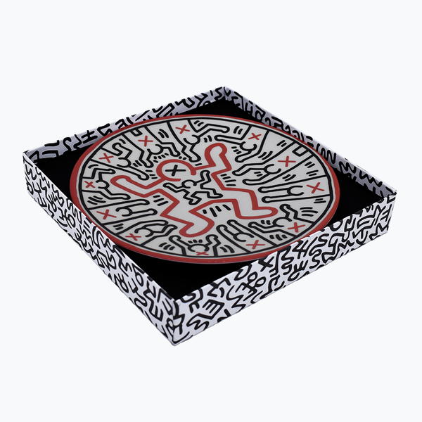 Keith Haring Porcelain Plate 1