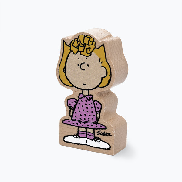 Peanuts Sally Brown Wooden Figure