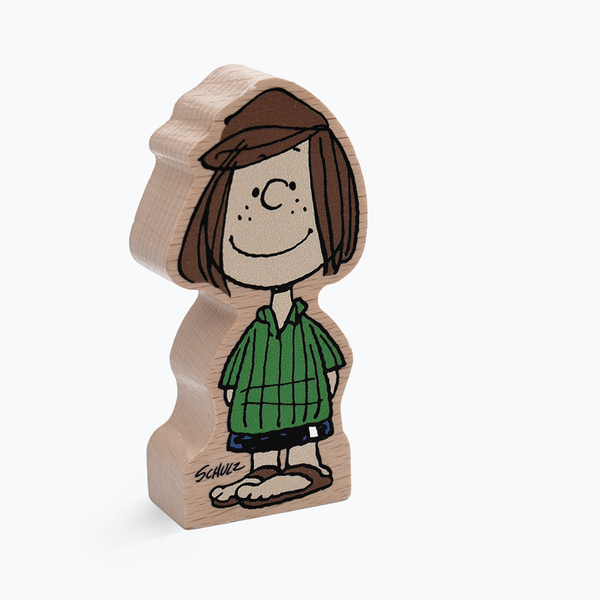 Peanuts Peppermint Patty Wooden Figure